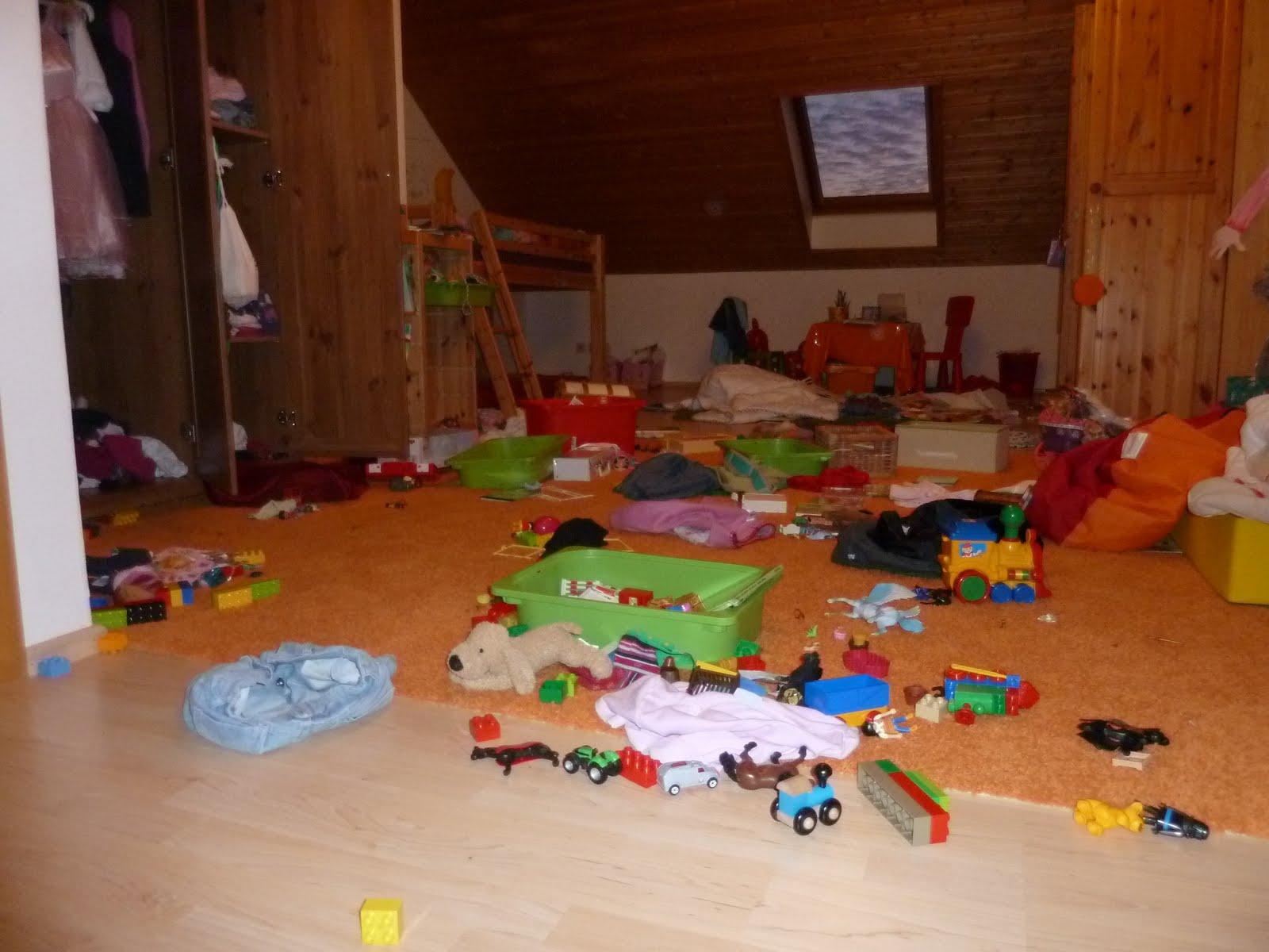 Mal ehrlich seite 3 alltagsliebe for Kinderzimmer unordnung